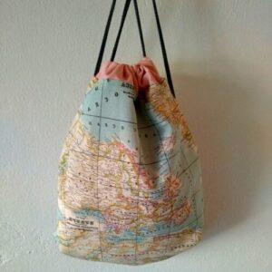 Mochilas mapamundi